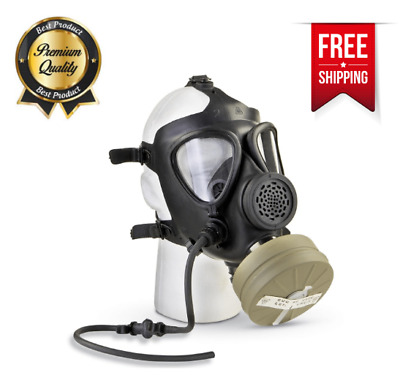 Israeli Military Surplus M15 Gas Mask with Filter Without Hose Fully Adjustable