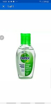 5X Original Dettol Instant Hand Sanitizer Rinse Free Protection-25 ML *NO Water