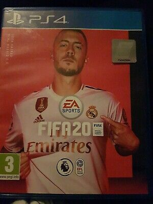 FIFA 20 PS4  great condition only played twice