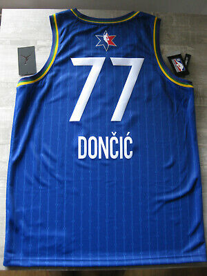 Luka Doncic #77 Dallas Mavericks Gold Edition Jersey Men Sleeveless Vest Swinger