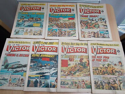Victor x 7 Comics from 1966 - 1967 -