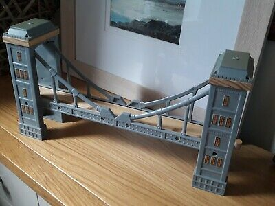 Bridge With Lights & Sounds For Wooden Train Track Set. Brio / Thomas Compatible