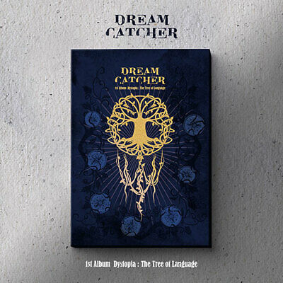 DREAMCATCHER 1st Album Dystopia : The Tree Of Language L ver SEALED+GIFT+TRACK