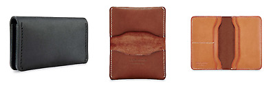 Red Wing Card Holder Wallet - Black, Oro and Tan