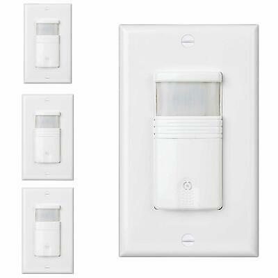 Dependable Direct 3-Way Occupancy Wall Switch Sensors 4 Pack