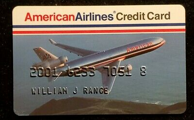 American Airlines credit card♡Free Shipping♡cc955♡
