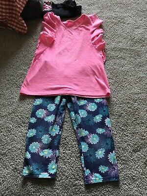 Cat And Jack Girls Leggings And Shirt Combo Size 12