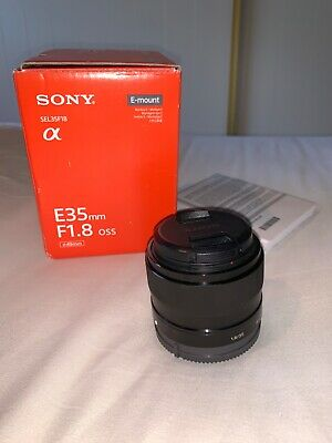 Sony SEL35f18 E35mm F1.8 OSS E Mount Lens - Excellent Condition.