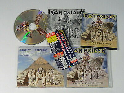 Iron Maiden - Somewhere Back In Time (Japan) / TOCP-66795 + STICKER