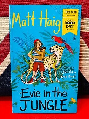 World Book Day 2020: Evie in the Jungle by Matt Haig (Paperback 2020) *NEW* Book