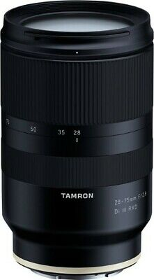 Open Box Perfect Condition Tamron 28-75mm f/2.8 Di III RXD Lens for Sony