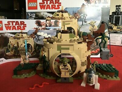 LEGO Star Wars Yoda's Hut (set 75208) - boxed, complete and immaculate!