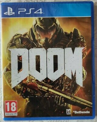 DOOM PS4 brand new and sealed