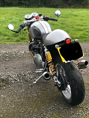 Evotech Tail Tidy Triumph Thruxton/r With Led Indictors