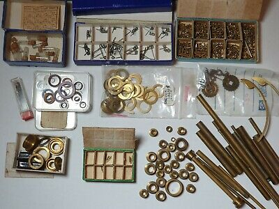 Clock repair tools for watchmaker parts wires screws springs