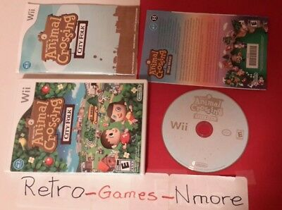 Animal Crossing: City Folk (Nintendo Wii, 2008), Actual pict, Authentic, Fast sh