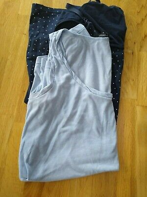 Maternity/nursing bundle 2x vests - size 12 and 14 (H&M Mama and New Look)