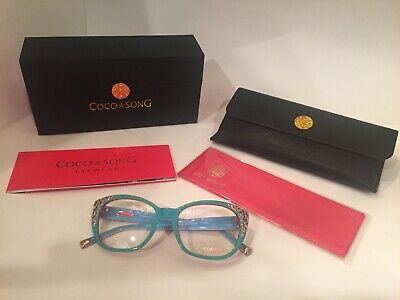Coco Song-NEW Authentic-Lucky Dragon Eyeglass Frame-53 Eye