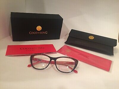 Coco Song-NEW Authentic-Heroes Forever Eyeglass Frame-55 Eye