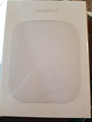 Apple HomePod Voice Enabled Smart Assistant - White