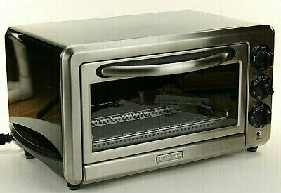 Oster Countertop Oven Stainless Steel 6-Slice Broiler Toaster 1400 Watts Bake