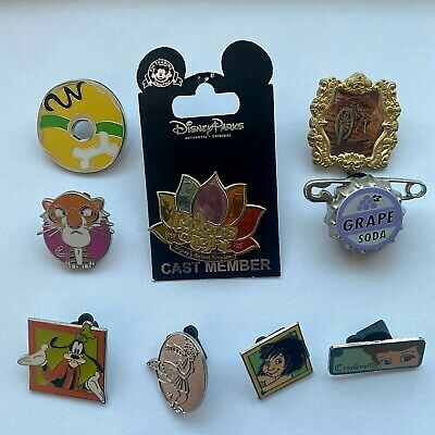 Disney World Pin Trading 29 Assorted Pin Lot Exclusives Pins No Doubles Tradable