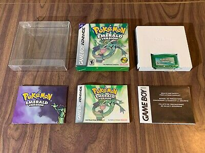 Pokemon: Emerald Version (Game Boy Advance, GBA) Complete - Authentic - Tested