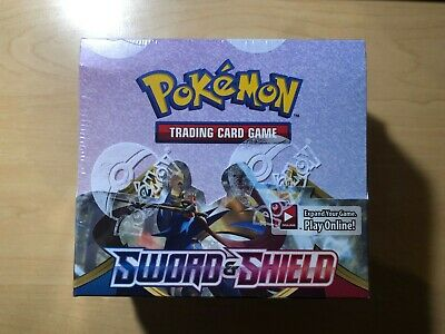 Pokemon TCG Sword And Shield Base Set Booster Box | Sealed Brand New Booster Box