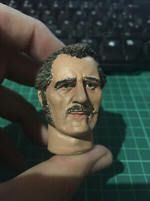 1//6 SCALE CUSTOM ROBERT SHAW JAWS QUINT ACTION FIGURE HEAD!