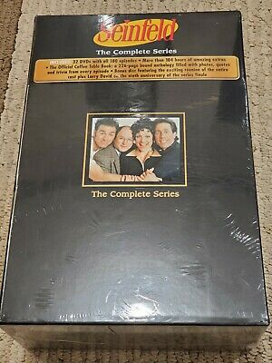 Seinfeld The Complete Series Sealed Box Set 32 Dvds Bonus Disc Coffee Table Book