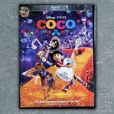 Disney's COCO (DVD, 2018) Brand New Free First Class mail