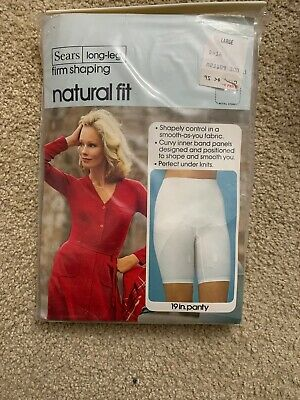 Sears Vintage Long Leg Firm Shaping Panty NEW