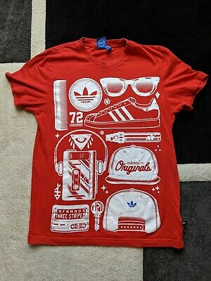 Adidas Originals All Over Print T Shirt Size Medium