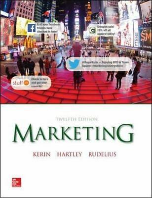 Marketing by Wm. Rudelius, Steven W. Hartley and Roger A. Kerin (2014,...12th Ed