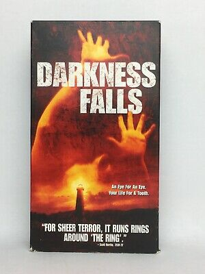 Darkness Falls VHS HORROR 2003