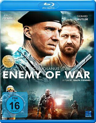 Coriolanus - Enemy of War [Blu-ray/NEU/OVP] basiert auf William Shakespeare Dram