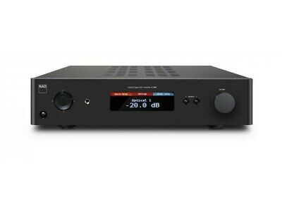 NAD C 368 Hybrid Digital DAC Amplifier + Installed DD BluOS-2 MDC Module Ex Demo