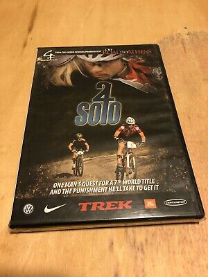 24 Solo- One Man's Quest For A 7th World Title, BN Sealed DVD-(Eatough-Cycling)