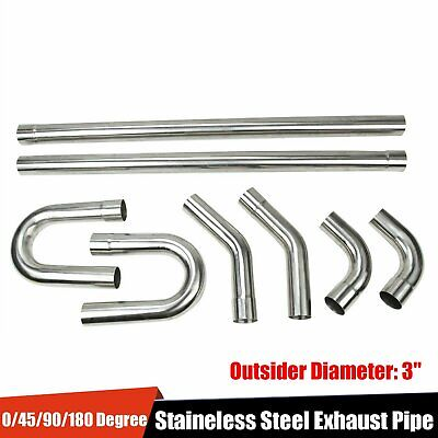 Cut.turbo downpipe exhaust 10 pack 1 5//8 Inch 304  stainless steel Pie