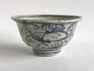 Chinese Ming Dynasty Chenghua 成花 Tea Cup 15th Century