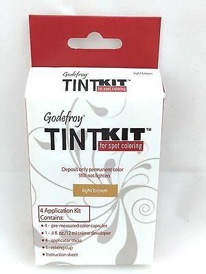 Godefroy Eyebrow Tint Kit Professional 4 Applications Light Brown
