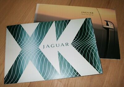 Catalogue/Brochure New Jaguar XK (X150) 2 catalogues marché US