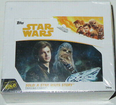 2018 Topps Solo: A Star Wars Story Series 24-Pack Retail Box Brand New & Sealed