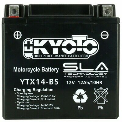 Batterie Kyoto Ytx14bs