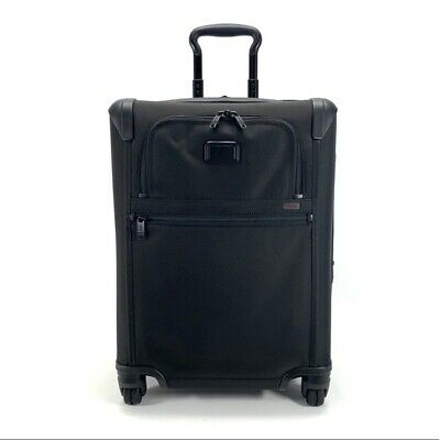 Tumi Alpha 2 Continental Carry On Expandable Suitcase Spinner Luggage 22061D2