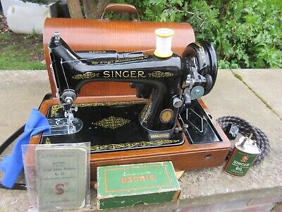 Singer 99K Knee Op' Electric Sewing Machine Vtg 1951 Centenary Model
