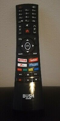 Genuine Remote Control For Bush 32 Inch Smart HD Ready TV DLED32HDS