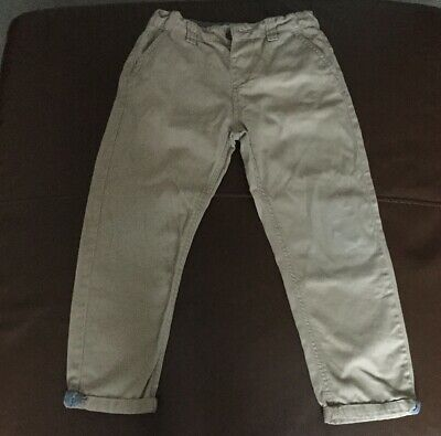 Denim & Co Chino Style Boys Slim Fit Trousers Age 6-7 Yrs