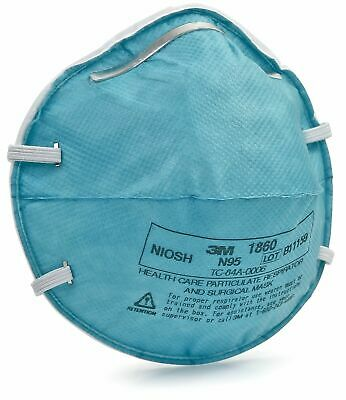 1 piece 3M N95 Health Care Particulate Respirator and Surgical Mask (1860)