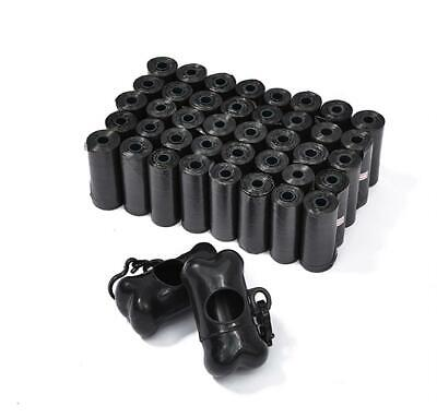 Dog Poop Bag Dispensers Leakproof Strong Nontoxic 12 Rolls 480pcs Pet Waste Bags